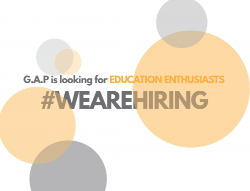 #WEAREHIRING – G.A.P is looking for EDUCATION ENTHUSIASTS