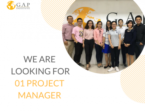 #WEAREHIRING – G.A.P is looking for Project Manager